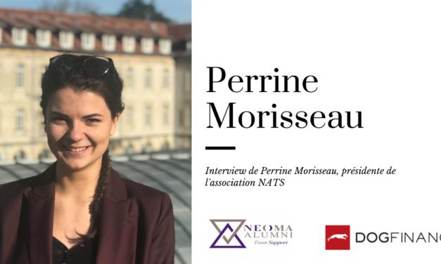 Découvrez l'Interview de Perrine Morisseau, présidente de NATS.