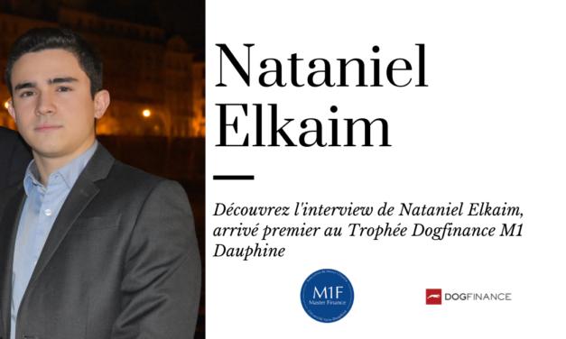 Découvrez l'interview de Nataniel Elkaim, arrivé premier du Trophée Dogfinance M1 Dauphine