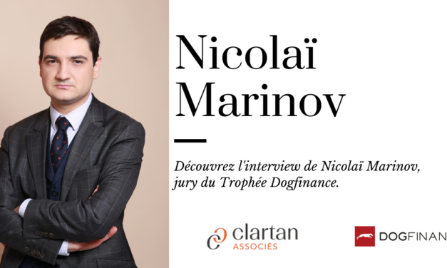 Découvrez l'interview de Nicolaï Marinov, jury du Trophée Dogfinance