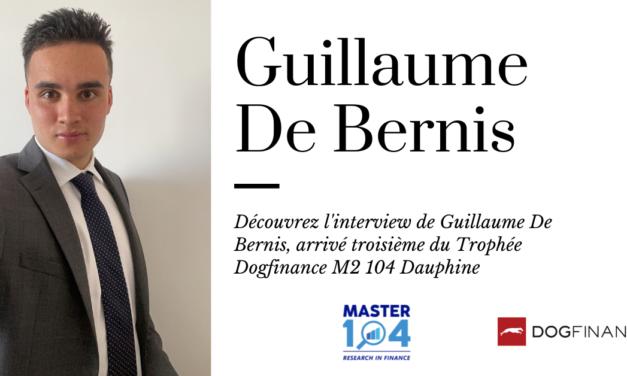 Découvrez l'interview de Guillaume De Bernis, arrivé troisième au Trophée M2 104 Dauphine
