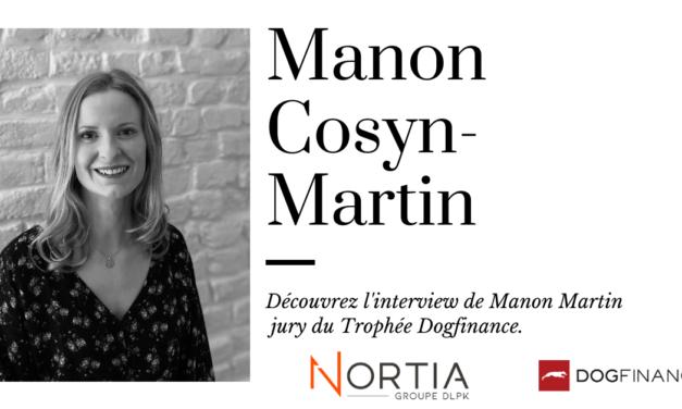 Découvre l'interview de Manon Cosyn-Martin, jury du Trophée Dogfinance