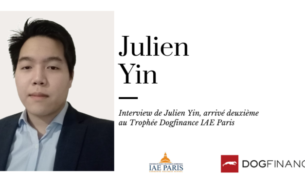 Découvrez l'interview de Julien Yin, arrivé deuxième au Trophée IAE Paris