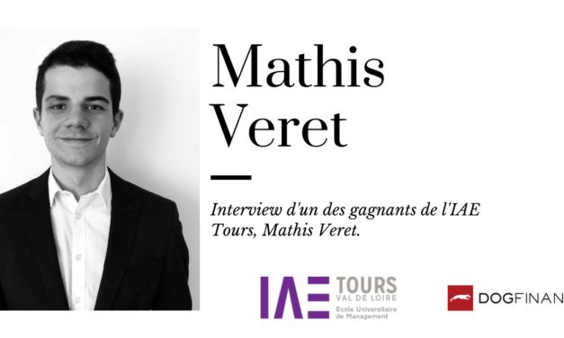 Interview de l'un des gagnants de l'IAE Tours