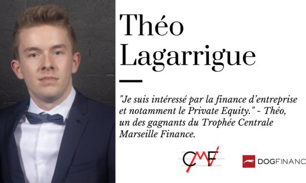 """""""Je suis intéressé par la finance d'entreprise et notamment le Private Equity."""" – Théo, un des gagnants du Trophée Centrale Marseille Marseille."""