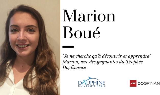 """""""Je ne cherche qu'à découvrir et apprendre"""" Marion, une des gagnantes du Trophée Dogfinance"""